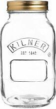 Einmachglas (Set of 12) Kilner Größe: 17,8 cm H