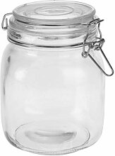 Einmachglas Vorratsglas 930 ml Bügelverschluß