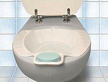Einsatz-Bidet, Bidetschüssel, Auf die Toilette