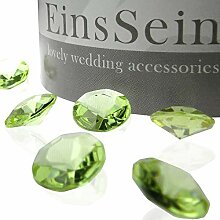600x Funkelnde Diamantkristalle Acryl Mix 12-10-5mm rot-silber Diamanten