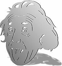 Einstein Acryl Spiegel, acryl, 400 x 365mm