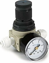 Einstellbarer Wasserdruckminderer inkl. Manometer