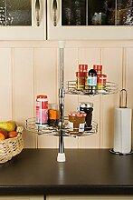 Einstellbares Küchenschrank-Karussell