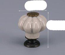 Einteiliger kleiner/großer Kürbis Schrankknopf