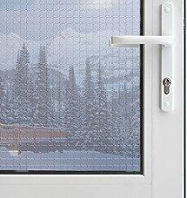 Einweg-Fensterfolie, Sichtschutz, Anti-UV,