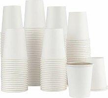 Einweg-Kaffeebecher aus Papier, 142 ml, für