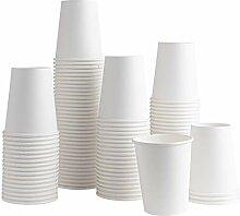 Einweg-Kaffeebecher aus Papier, 284 ml, für