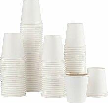 Einweg-Kaffeebecher aus Papier, 85 ml, für