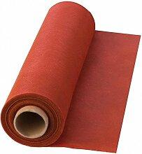 Einweg-Tischdecke aus PP, rot, 25 m x 110 cm, 1 Rolle