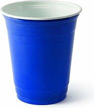 Einweg-Trinkbecher aus Plastik, 340ml, Solo Blue, 50 Stück