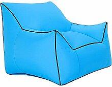 Einzel-aufblasbares Sofa, Wasserdichtes