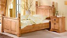 Einzelbett Bett 100 x 200 cm 1485 Mexican Kiefer