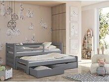 Einzelbett Hodge mit Ausziehbett