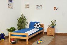 Einzelbett / Jugendbett Markus Buche Vollholz