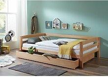 Einzelbett Kyle mit Bettkasten, 90 x 200 cm