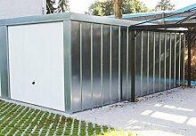 Einzelgarage Fertiggarage 2,98 x 5,97 x 2,18 m
