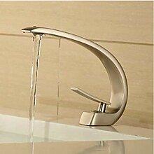 Einzelhalter Einlochmontage Wasserhahn Waschbecken