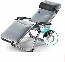 Einzelklappbett/klappstuhl/büro-strandstuhl/mittagessen lounge chair/schwangere frau stuhl/zuhause mittagsschlaf-C