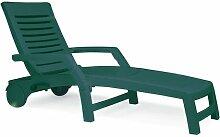 Einzelliege Florida Garten Living Farbe: Grün