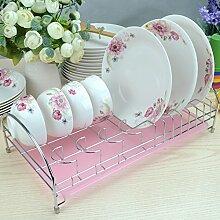 Einzelne Drainboard Geschirrständer Küche Regal Teller Schüssel Regal Storage Rack Geschirrständer Tropf Rack