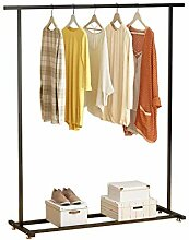 Einzelschienen-Kleiderständer Kleiderstange mit