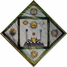Einzigartige Der Altar Tischdecke №4 Freimaurer Grad 18,19,20,21,22