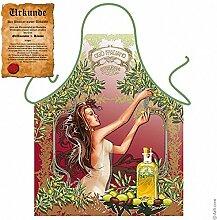 Einzigartige Kochschürze für Oliven Liebhaber :
