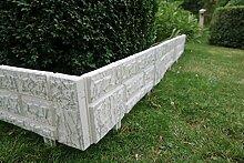 Einzigartiger Gartenzaun im Set zu 2,34 x 20 cm