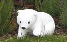 Eisbär stehend (S210) Gartendeko Tierfiguren
