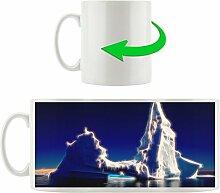 Eisberg, Motivtasse aus weißem Keramik 300ml, Tolle Geschenkidee zu jedem Anlass. Ihr neuer Lieblingsbecher für Kaffe, Tee und Heißgetränke.