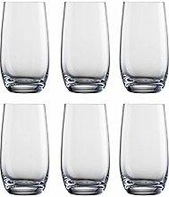 Eisch 6 Becher - Wasserglas - Universalglas