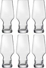 Eisch Bierglas Craft Beer Becher, (Set, 6 tlg.),