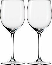 Eisch Rotweinglas Jeunesse, (Set, 2 tlg.),