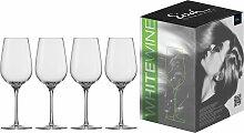 Eisch Weißweinglas Vinezza, (Set, 4 tlg.),