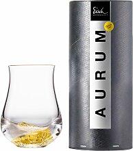 Eisch Whiskyglas Aurum, (1 tlg.), handgefertigt,