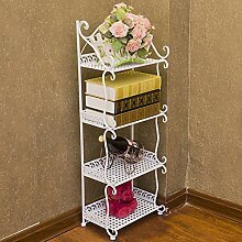 Eisen Bad Rack/Etage Bad WC Becken/Bad Bad Lagerregal/Lagerregal Regal-B