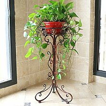 Eisen Blütenstand Einzelboden Boden Stil Blume Stand grün Pflanze Display Stand ( größe : 34cm )