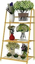 Eisen Blume Rack Sukkulente Pflanzen Blume Rack Balkon Blume Topf Blume Rack Multilayer Leiter Blume Rack ( farbe : A )