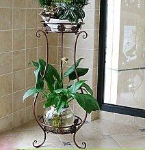 Eisen Blume Stand / Wohnzimmer Balkon einfache grüne Blume Blumenrahmen / Innen-und Außenbereich Boden hängende Orchidee Regal ( größe : 62cm )