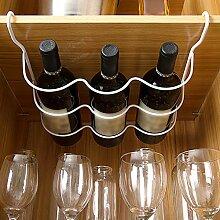 Eisen-Regal für Wein, Bier, Kühlschrank,
