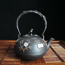 Eisen Teekanne Kung Fu Tee-Set Gusseiserner Topf