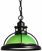Eisen und Glas Deckenleuchte Lampenschirm