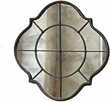 Eisen Wandbehang Spiegel Diamant Spiegel