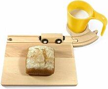 Eisenbahn Frühstücks Set (gelb) Frühstücksset