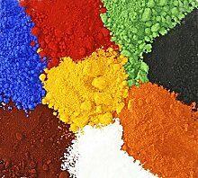 Eisenoxid gelb 10 Kg Farbpigment für Beton + Wandfarbe