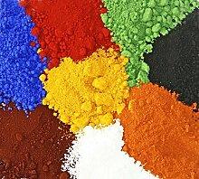 Eisenoxid rot 2 Kg Farbpigment für Beton + Wandfarbe