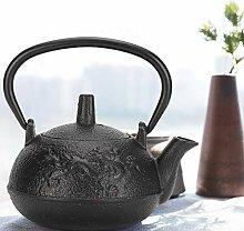 Eisentee-Wasserkocher, 0,3 l gegossene Teekanne