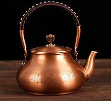 Eiserne Teekanne Antike Kupfer-Teekanne