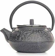 Eiserne Teekanne Gusseisen Teekanne Silber 300 ml