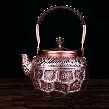Eiserne Teekanne Haushalt Retro Kupfer Teekanne